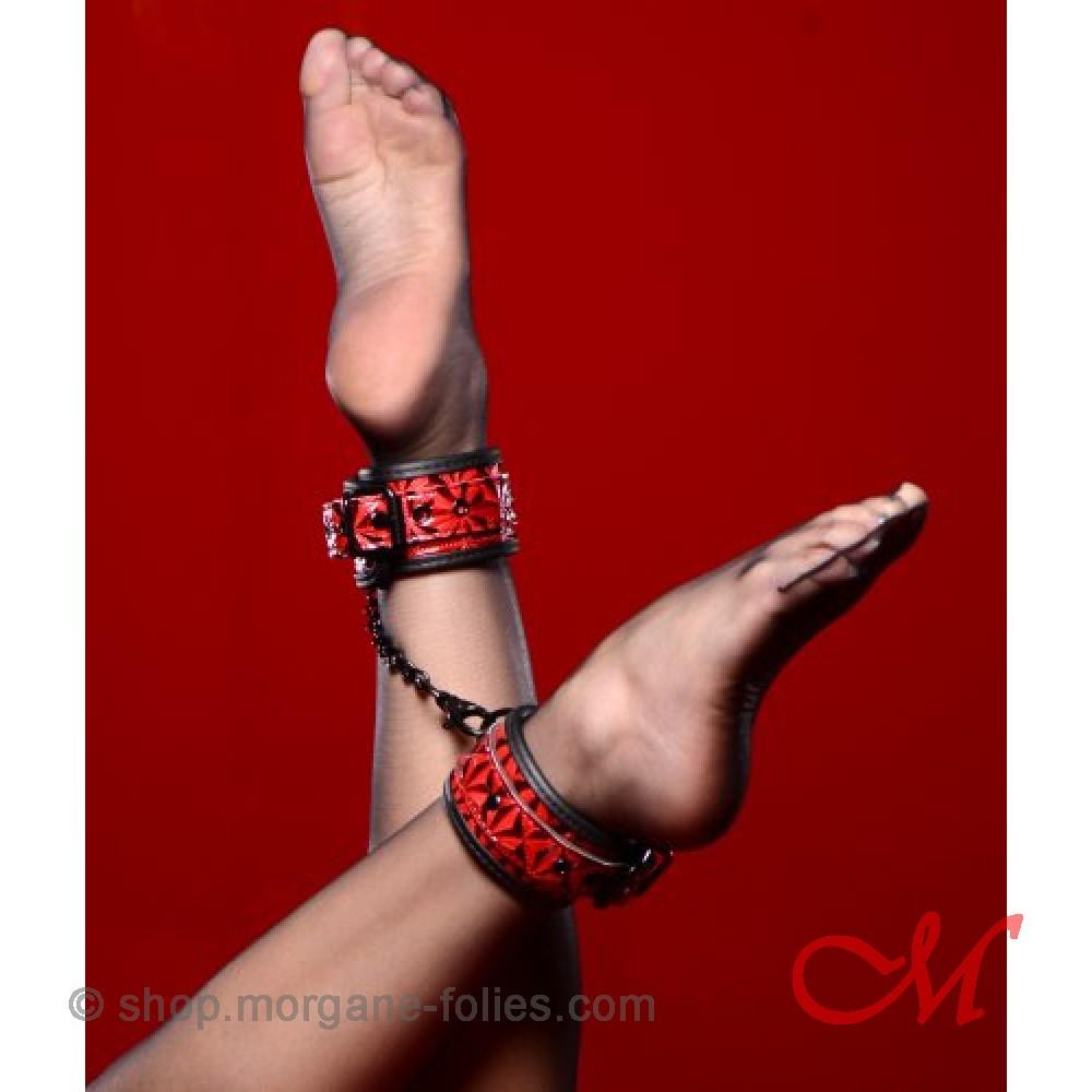 """Bracelets Chevilles """"Crimson Collection"""""""
