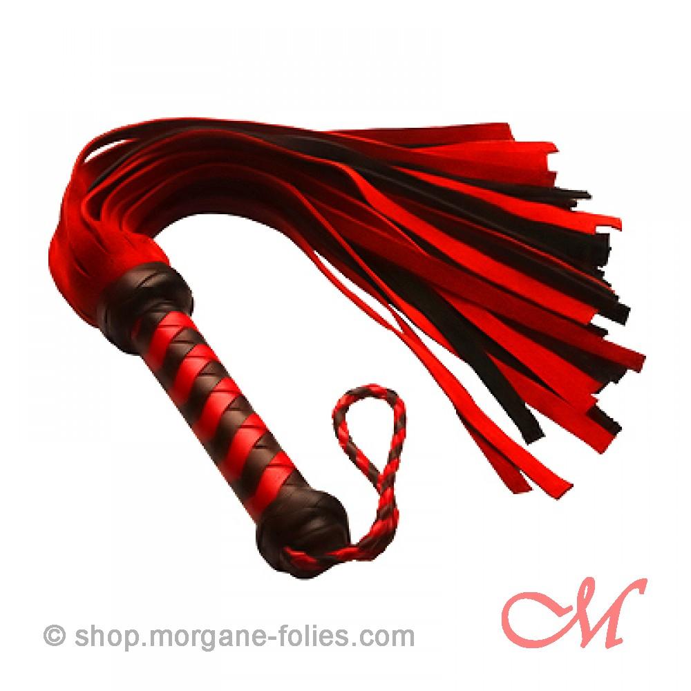 Martinet Daim Rouge et Noir 45 cm