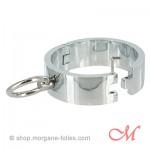 Bracelets d'Esclave Chromés Medium-Large