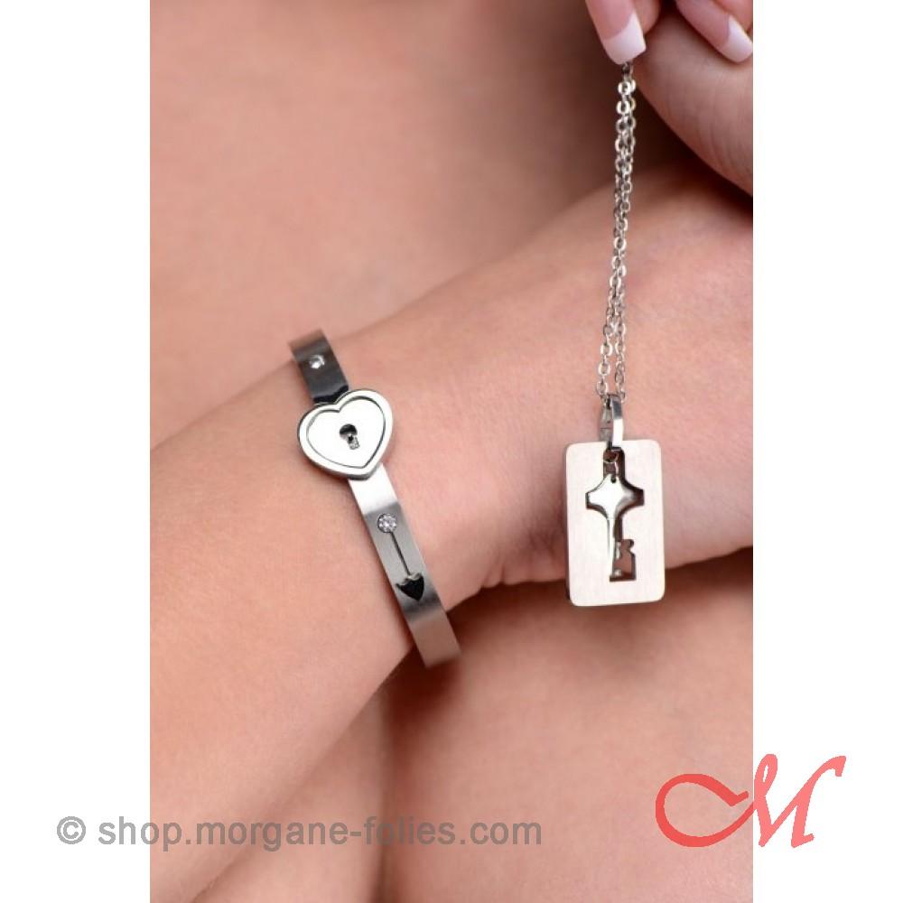 Bracelet d'appartenance Femme BDSM