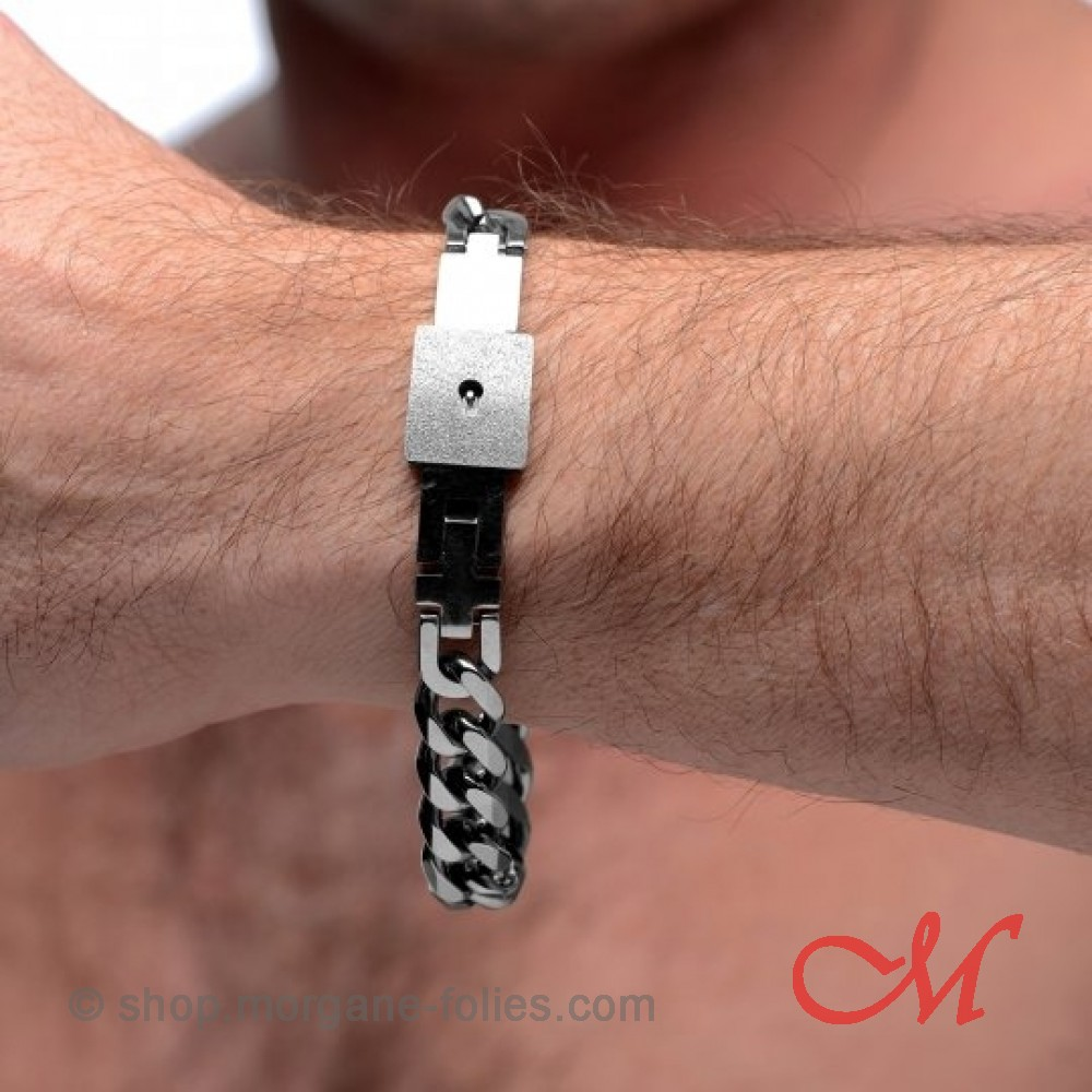 Bracelet d'appartenance BDSM