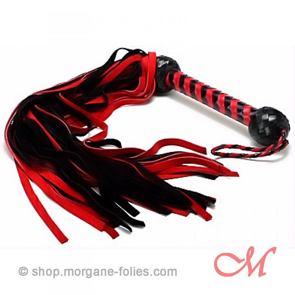 Martinet Daim Rouge et Noir 75 cm