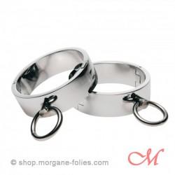 Bracelets d'Esclave Chromés Small-Médium