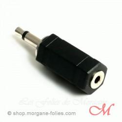 Electrosexe : Adaptateur 2,5mm > 3,5mm
