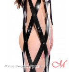Cage Suspension en Cuir