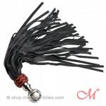 Martinet Cuir Rouge et Noir 65 cm