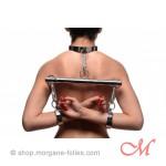 Joug Acier Inoxydable avec Colier et Bracelets