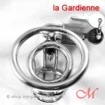 Cage de Chasteté La Prison de Morgane SUR-MESURES - La Gardienne